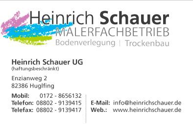 Heinrich Schauer Bodenleger Trockenbau Baureparaturen